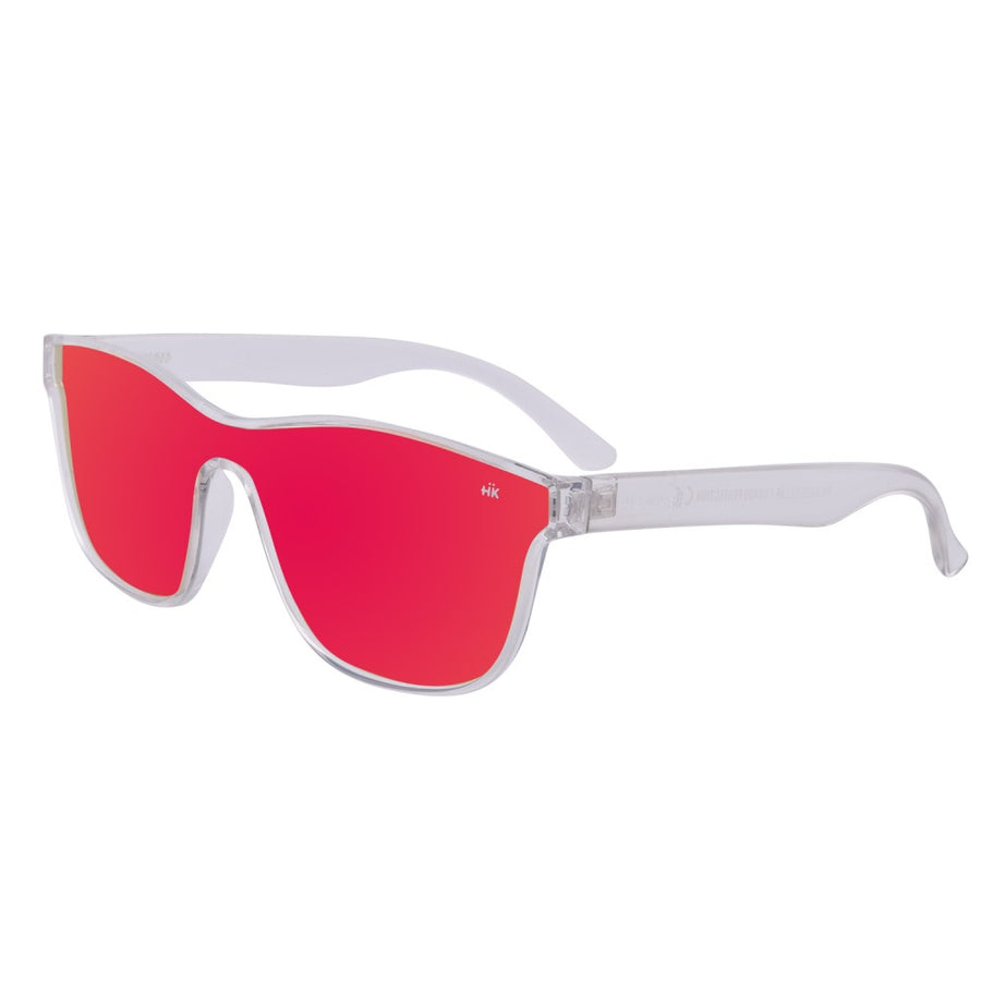 Mavericks Crystal Transparent Polarized Sunglasses HK-004-03