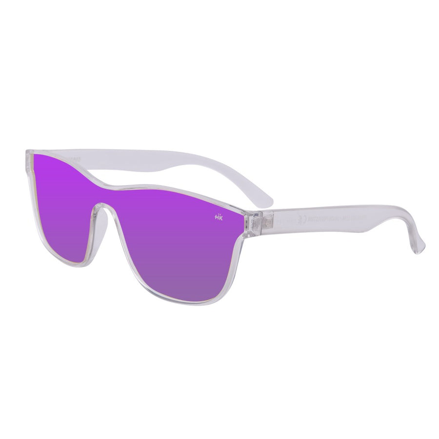 Mavericks Crystal Transparent Polarized Sunglasses HK-004-04