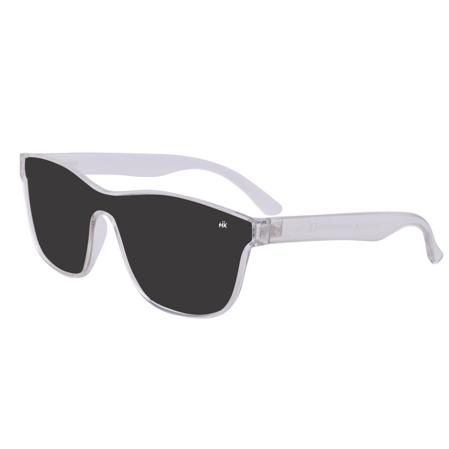 Mavericks Crystal Transparent Polarized Sunglasses HK-004-05
