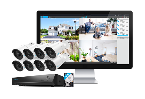 Reolink 8 Camera 16 Channel PoE Security Camera System 17