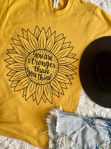 Sunflower Stronger than you think-mustard