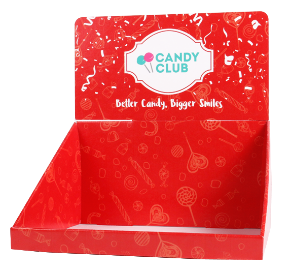 Candy Club - Holiday Countertop Display (Empty)