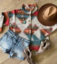 Load image into Gallery viewer, Western Dreams Aztec Jacket