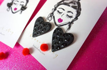 Load image into Gallery viewer, St Valentine leopard earrings