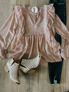 Polka Dot Pop Blouse
