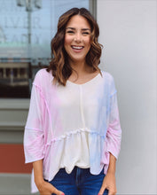 Load image into Gallery viewer, Spring Pastels Tie Dye Knit Top