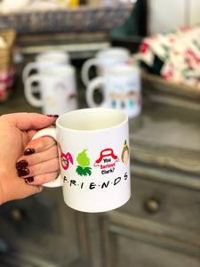 Christmas Inspired Friends Coffee Mug