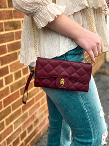 Jennifer Quilted Crossbody
