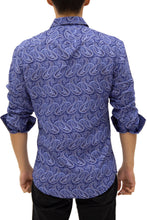 Load image into Gallery viewer, 192384 - Purple Button Up Long Sleeve Dress Shirt