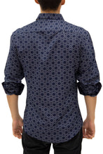 Load image into Gallery viewer, 192387 - Black Button Up Long Sleeve Dress Shirt