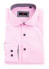 202370 - Pink Button Up Long Sleeve Dress Shirt