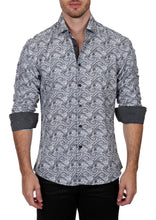 Load image into Gallery viewer, 192311 - Black Button Up Long Sleeve Dress Shirt