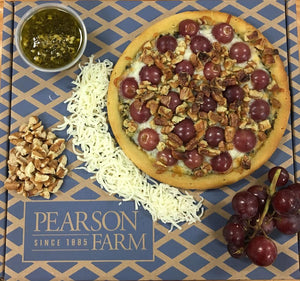 Pizza with Pecan Pesto