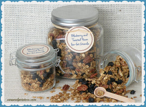 Granola with Blueberries and Pecans