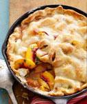 Peach Pan Pie