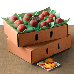 Gift Box of 24 Peaches with Preserves