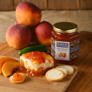 Peach Pepper Jelly