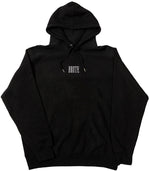 Load image into Gallery viewer, BLACK EMBROIDERY HOODIE - Brute SF