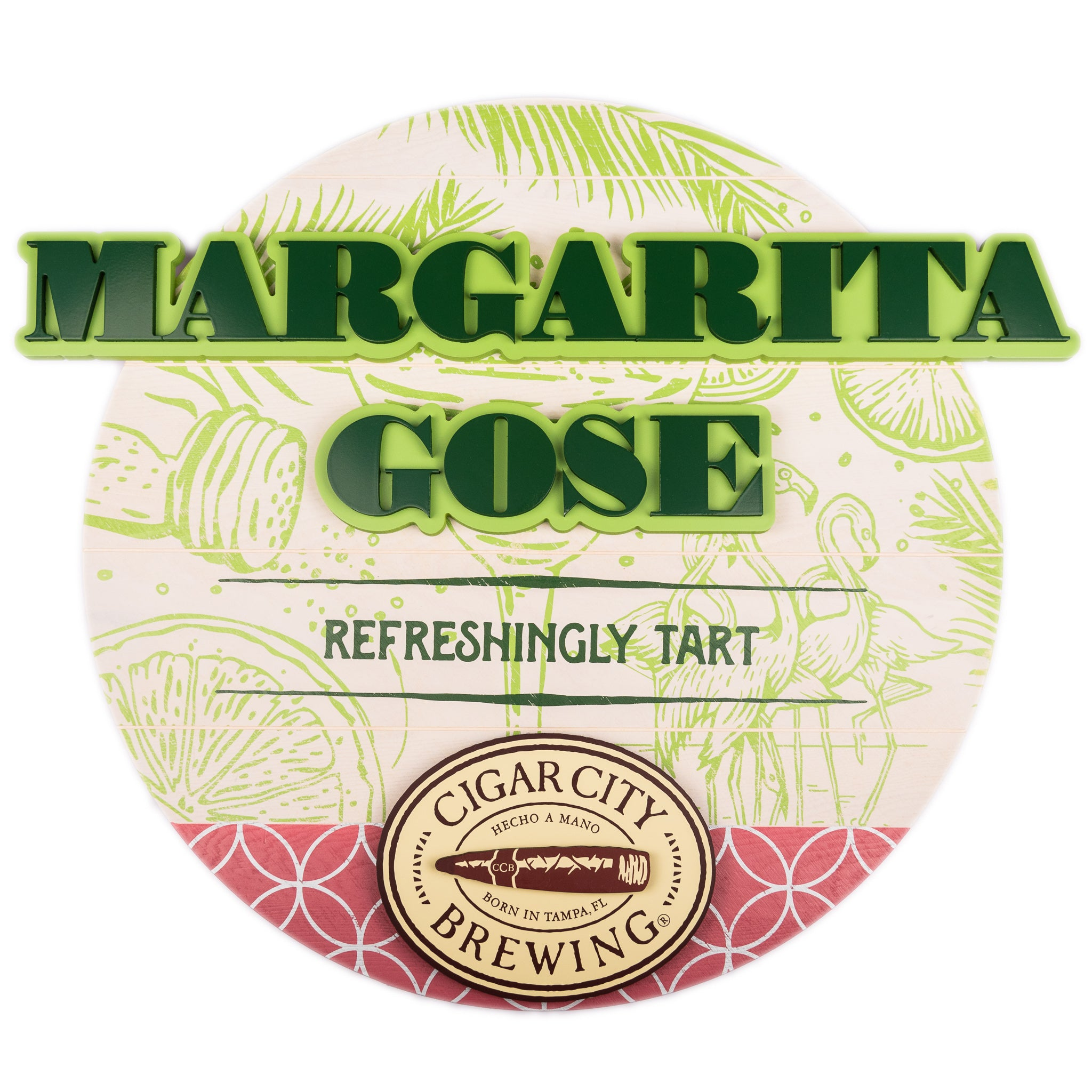 Margarita Gose Wood Wall Sign