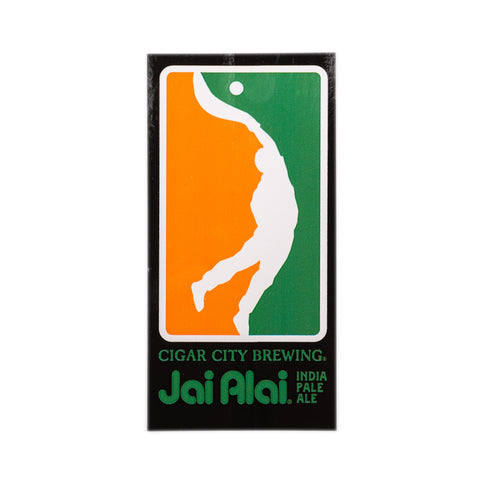 Jai Alai sticker