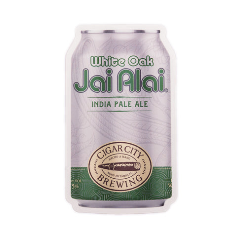 White Oak Jai Alai Can Sticker
