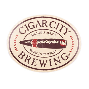 Cigar City Brewing Logo Sticker