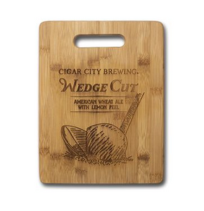 Wedge Cut Bamboo Cutting Board