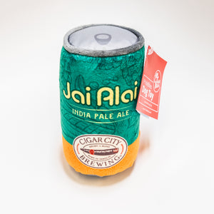 Jai Alai Plush Dog Toy