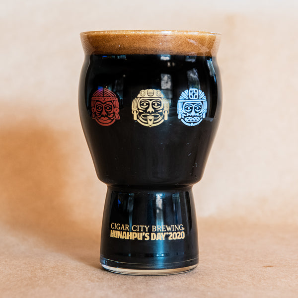 Hunahpu's Etched Glass