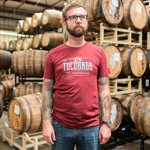 Tocobaga Red IPA branded t-shirt