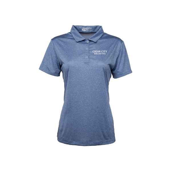 Ladies Nike Dri Fit Polo in royal heather