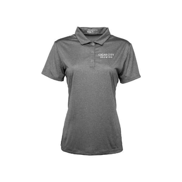 Ladies Nike Dri Fit Polo in carbon heather