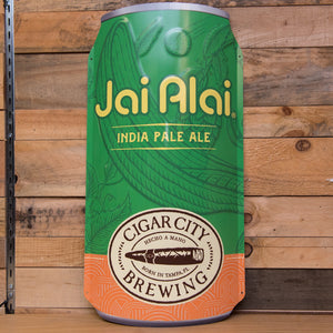 Jai Alai can-shaped tin tacker