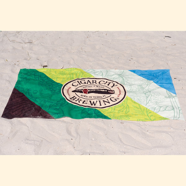 Branded Beach Towel