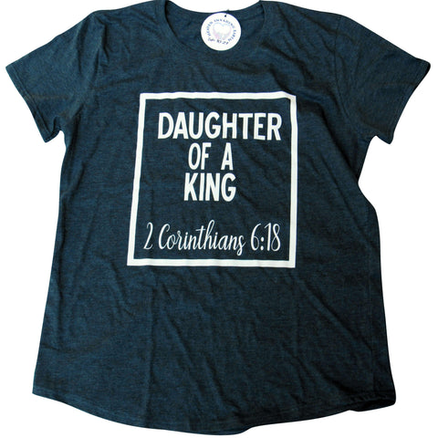 Daughter Of A King Women Tee