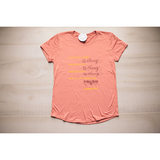 Nothing Missing, Broken, or Out of Order Women's Shirt (Font Color Change Available)-Heaven Invading Earth, LLC