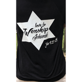 Worship Unisex Baseball Tee Shirt-Heaven Invading Earth, LLC