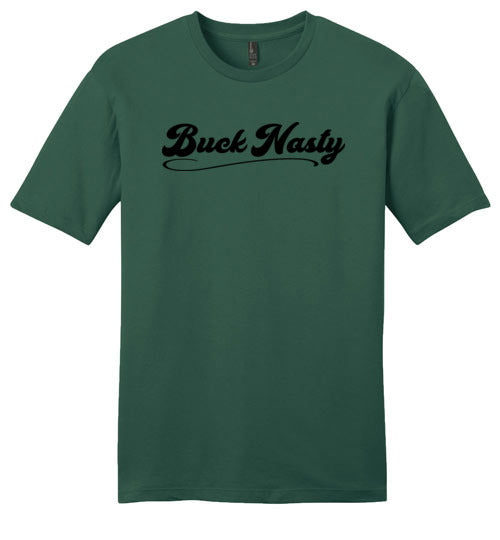 Buck Nasty Black Logo