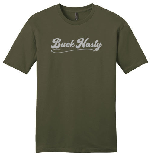 Buck Nasty Logo Gray - Men's