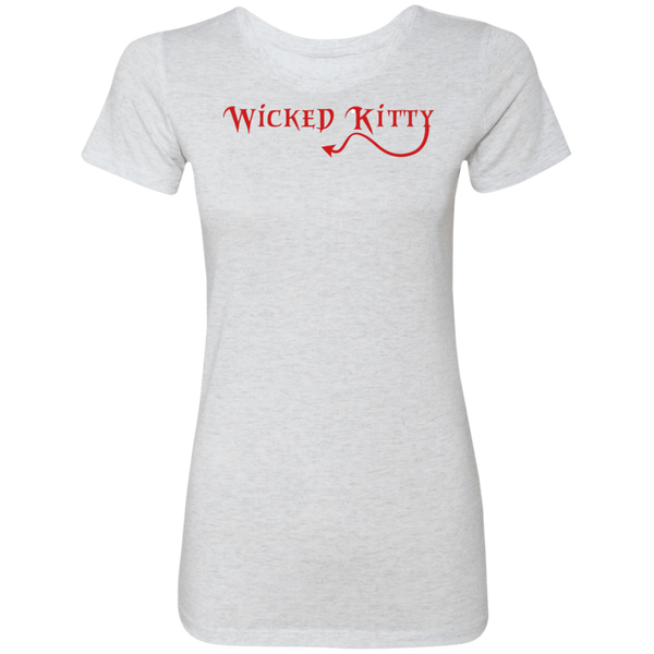 Wicked Kitty Triblend T-Shirt