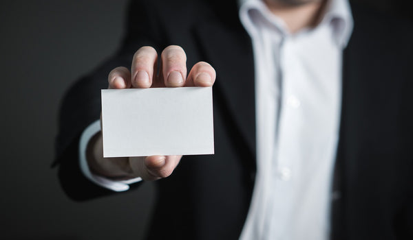 5 Benefits of Business Cards