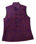 Purple and Gold Waistcoat