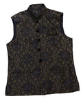 Navy and Gold Waistcoat
