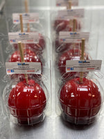 Hard candy apples