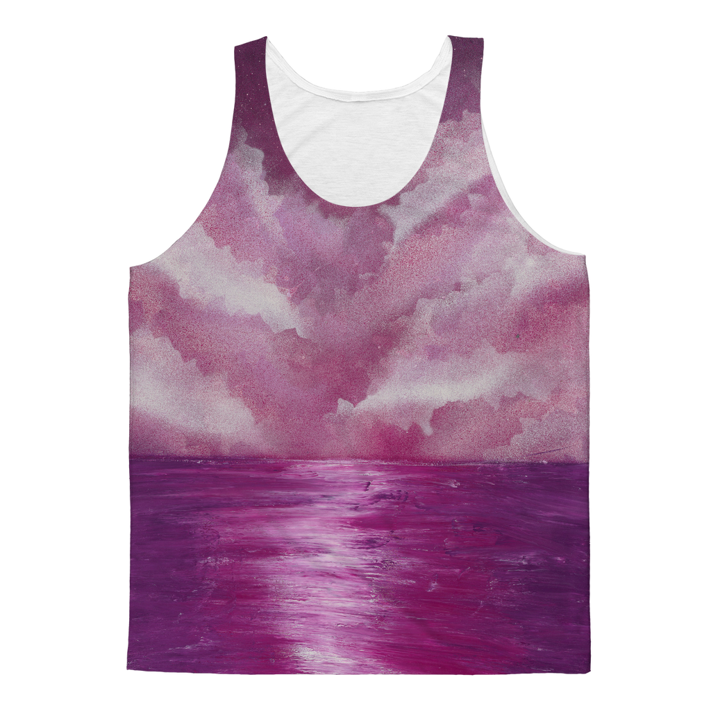Rose Water by Parr Josephee Classic Sublimation Adult Tank Top