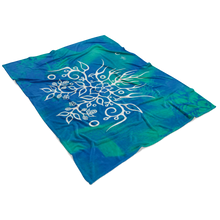 Blackberry Fleece Blanket by Miigizi