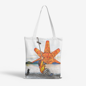 Rope Swing by Lynn Hughan Tote Bag