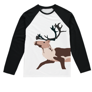 Tuktu by Alexander Angnaluak Sublimation Baseball Long Sleeve T-Shirt