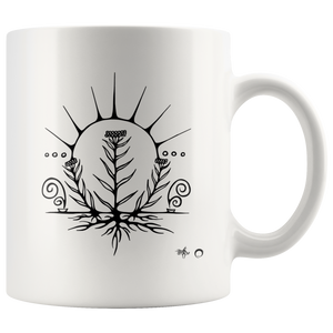 Pearly Everlasting Mug by Miigizi