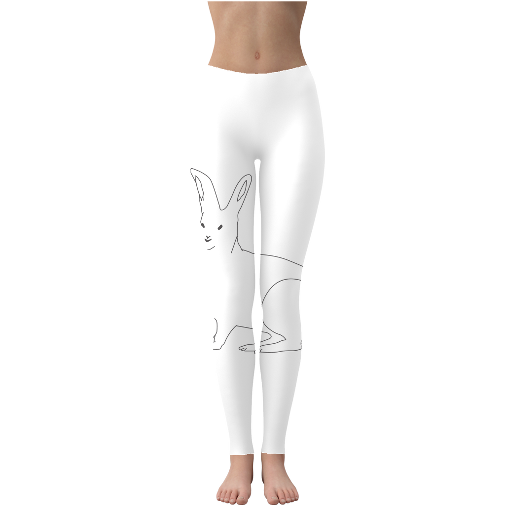Rabbit by Parr Josephee Leggings